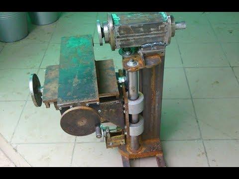 Homemade milling machine part 5