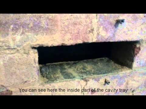UK  - damp problems due to cavity wall insulation