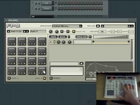FL Studio Tutorial Series: Lesson 14 - Using FPC