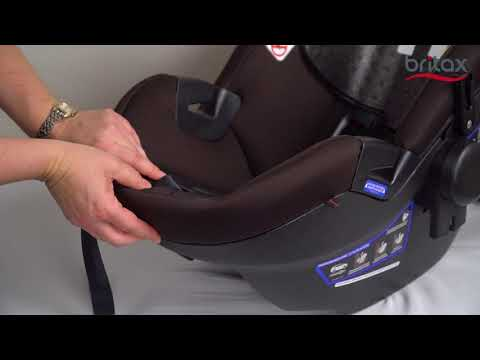 How to Replace the Cover of a Britax Infant Car Seat