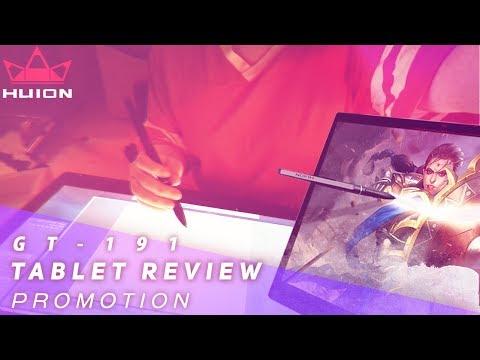 Juby Reviews A Graphics Tablet (HUION KAMVAS GT-191) [Promo]