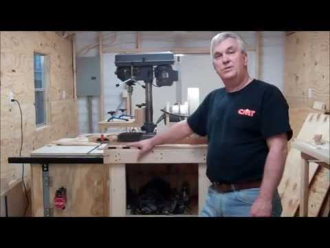 Building a Power Tools Storage Cabinet