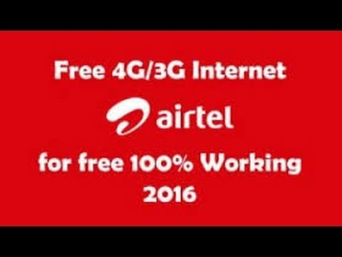 Airtel Proxy trick for Free Internet at Zero balance,