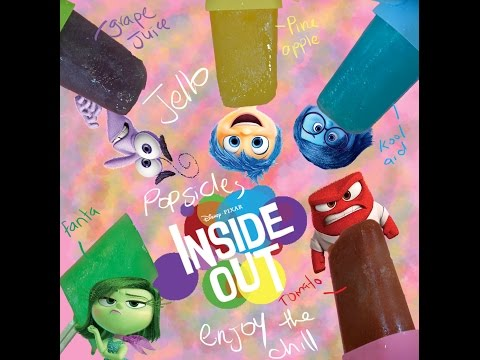 Inside Out Jello Popsicle ice cream - ICE POPS