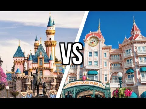 Disneyland Paris VS Disneyland USA