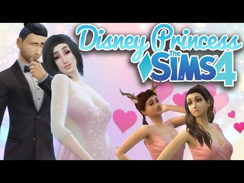 The Big Wedding! | Ep. 15 | Sims 4 Disney Princess Challenge