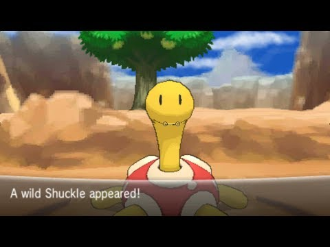 Pokemon X and Y Part 79 - Catching Shuckle