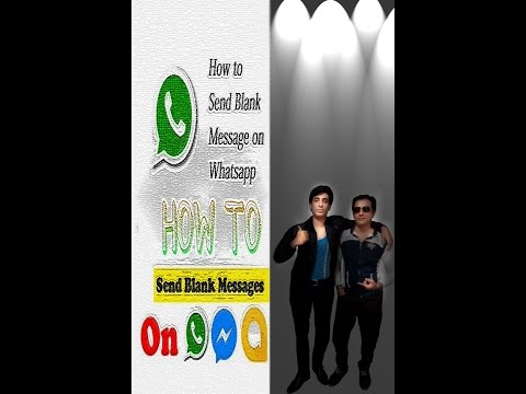 how to send blank message on whatsapp    send blank message on message