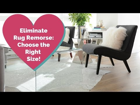 How To Choose The Right Rug Size (2015)