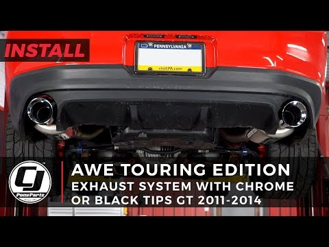 Mustang Install: AWE Stainless Steel Touring Edition Axle-Back Exhaust