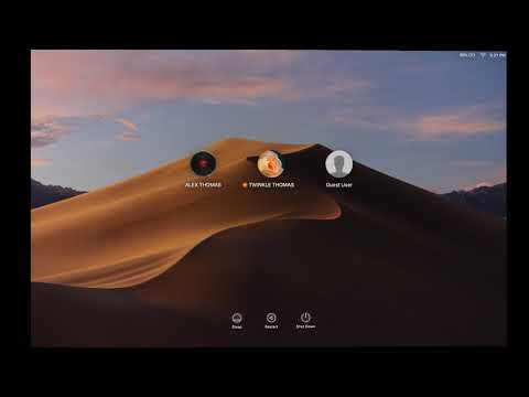 HOW TO ADD OR REMOVE A NEW USER ACCOUNT IN PARENTAL CONTROLS IN MAC OS MOJAVE