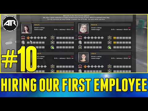 American Truck Simulator : HIRING OUR FIRST EMPLOYEE!!! (Career Let's Play / Walkthrough) - Part #10