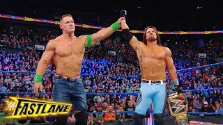 John Cena is humble in his defeat to AJ Styles: Exclusive, March 11, 2018