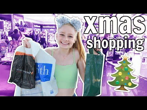 Last Minute Christmas Shopping Vlog! 🎅 *Urban Decay, Harrods + more*