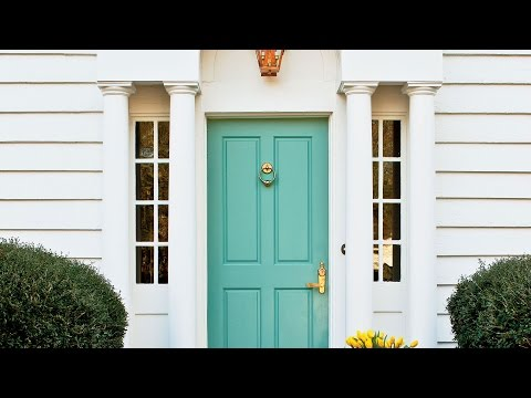 5 Colors To Freshen Your Front Door | Southern Living