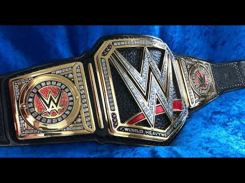 HOW TO MAKE THE WWE CHAMPIONSHIP BELT?
