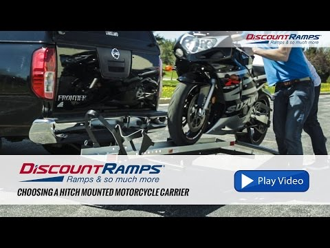 Choosing A Hitch Mounted Motorcycle Carrier