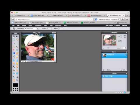 Using Pixlr to Change Image Pixel size