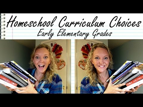 Homeschool Curriculum Choices, Progress, and Review: Early Elementary Subjects