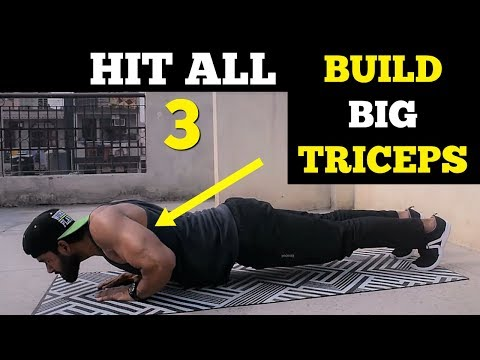 Tricep Workout At Home | Complete Home Workout Routine
