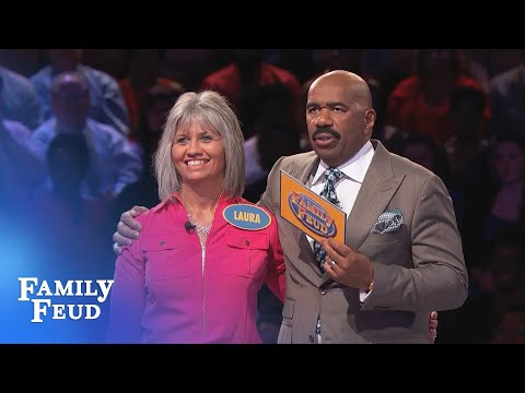 Can Karen get 5 points on her final answer for $20k? | Family Feud