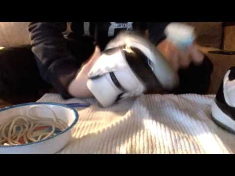 How to clean Jordan 11's at home remedy