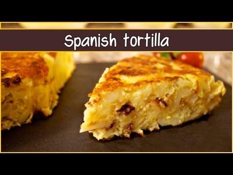 Recipe of the potato omelet (Spanish tortilla)
