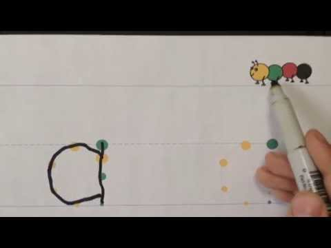 Handwriting: Teach your child to write the alphabet with an easy method.