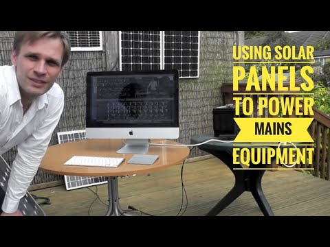 How to create a 240V AKT Solar system that powers mains appliances