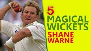 5 Magical Wickets of Shane Warne