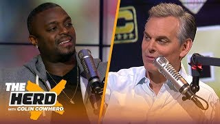 Plaxico Burress joins Colin to preview the NFL Conference Championship weekend | NFL | THE HERD