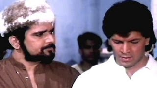 Aditya Pancholi, Raza Murad, Naamcheen - Emotional Scene 6/7