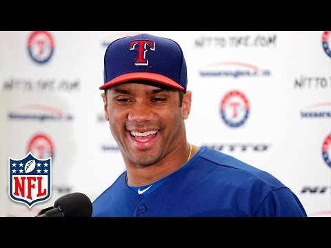 Top 5 Current NFL Players Drafted by MLB | NFL Now