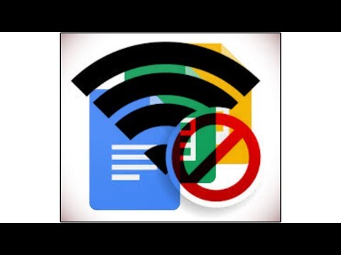 How to use Google Docs, Sheets, and Slides OFFLINE