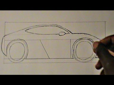 How To Draw Cars Step By Step 012 Exotic Car Concept Pt 8 How