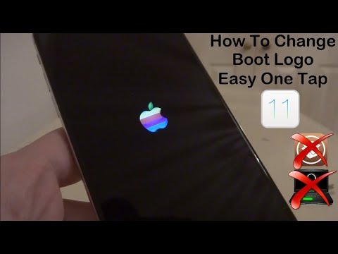 NEW How To Change Boot Logo iOS 11 - 11.1.2 NO Jailbreak NO Computer iPhone, iPad & iPod Touch