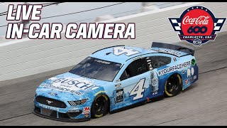 LIVE NASCAR In-Car Camera Presented by Goodyear: Kevin Harvick in the Coca-Cola 600 at Charlotte