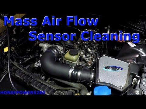 Pontiac G8 Mass Air Flow Sensor Cleaning
