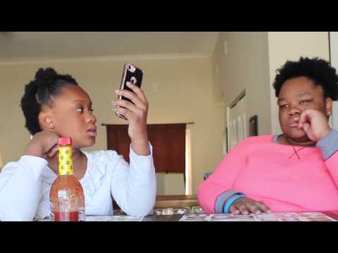 DO YOU KNOW THE ANSWER HOT SAUCE CHALLENGE | NELSISTERS4L