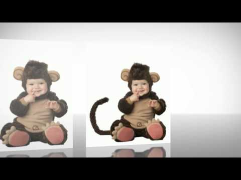 Halloween Costumes - Lil Characters Infant Monkey Costume