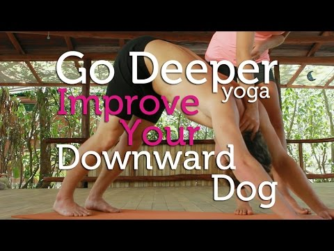 How To Improve Your Downward Facing Dog Pose (yoga)