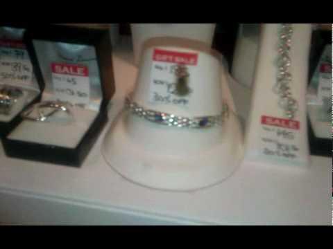 Fly inside jewelry display