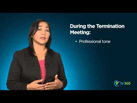 The Termination Meeting