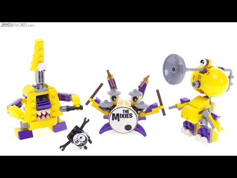 LEGO Mixels Series 7 Mixies Jamzy Tapsy & Trumpsy review!
