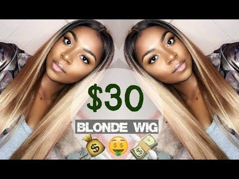 $30 BLONDE WIG!! Model Model Sylvie Synthetic Wig | Divatress.com