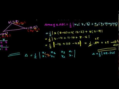How to Find Area of Triangle in Coordinate Geometry Quickly(2 Methods)