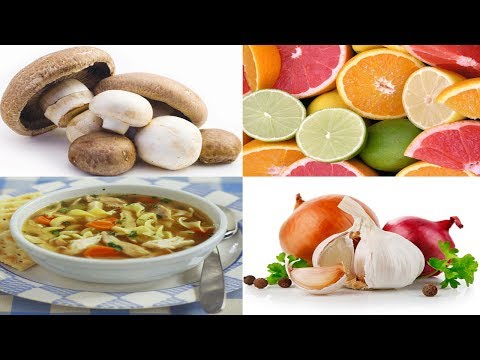 Top 7 Diabetic Foods to Fight Colds and Flu - Part 1