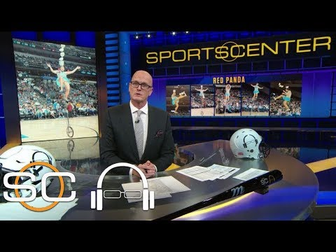 Where has NBA halftime show star Red Panda's unicycle gone? | SC with SVP | ESPN