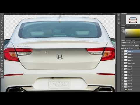 Redesign The 2018 Accord Rear! | Photoshop Like an Industrial Designer