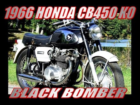 1966 Honda CB450 K0 Black Bomber